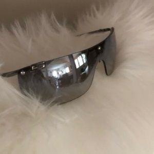 GUCCI Sunglasses Tinted Lens Silver